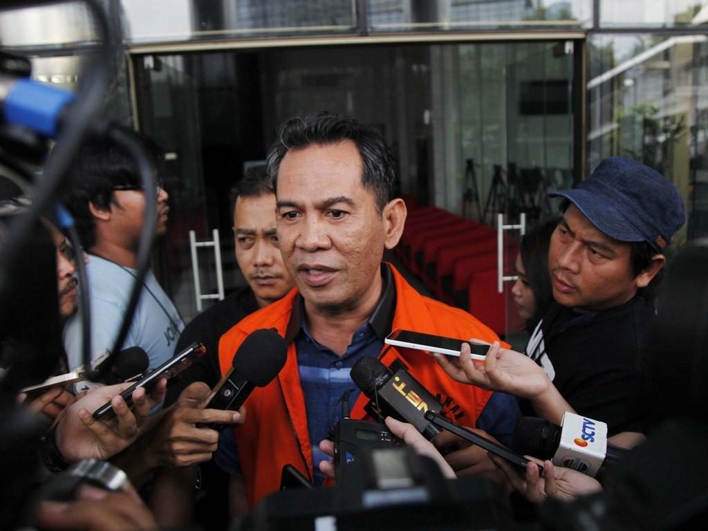 Bupati nonaktif Hulu Sungai Tengah Abdul Latif /MI/Rommy Pujianto