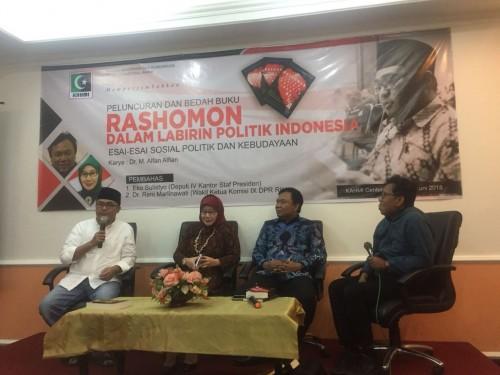 Peluncuran dan Bedah Buku, Rashomon Dalam Labirin Politik
