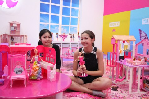 Alternatif Liburan Seru di Barbie House Gandaria City