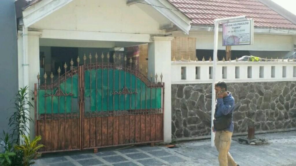 Rumah terduga teroris di Sidoarjo, Jawa Timur, Senin, 4 Mei 2018. Foto: Medcom.id/ Syaikhul Hadi.