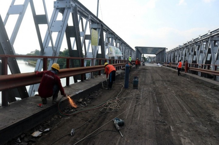 Jembatan Widang Tuban Resmi Operasi H-10 Lebaran