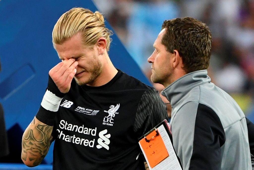 Kiper Liverpool, Loris Karius. (Foto: AFP PHOTO / Paul ELLIS)