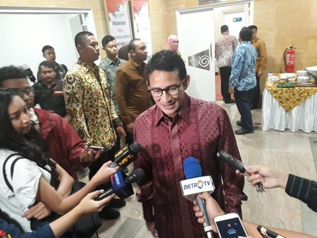 Wakil Gubernur DKI Jakarta Sandiaga Uno. Foto: Medcom.id/M Sholahadhin Azhar.