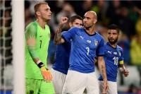 Simone Zaza Emosional Cetak Gol untuk Italia