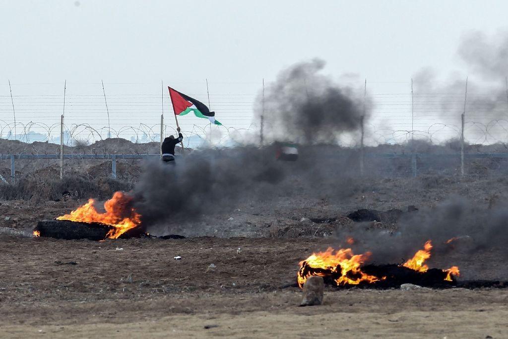 Hamas peringatkan protes yang terjadi di Gaza bisa lebih parah (Foto: AFP).