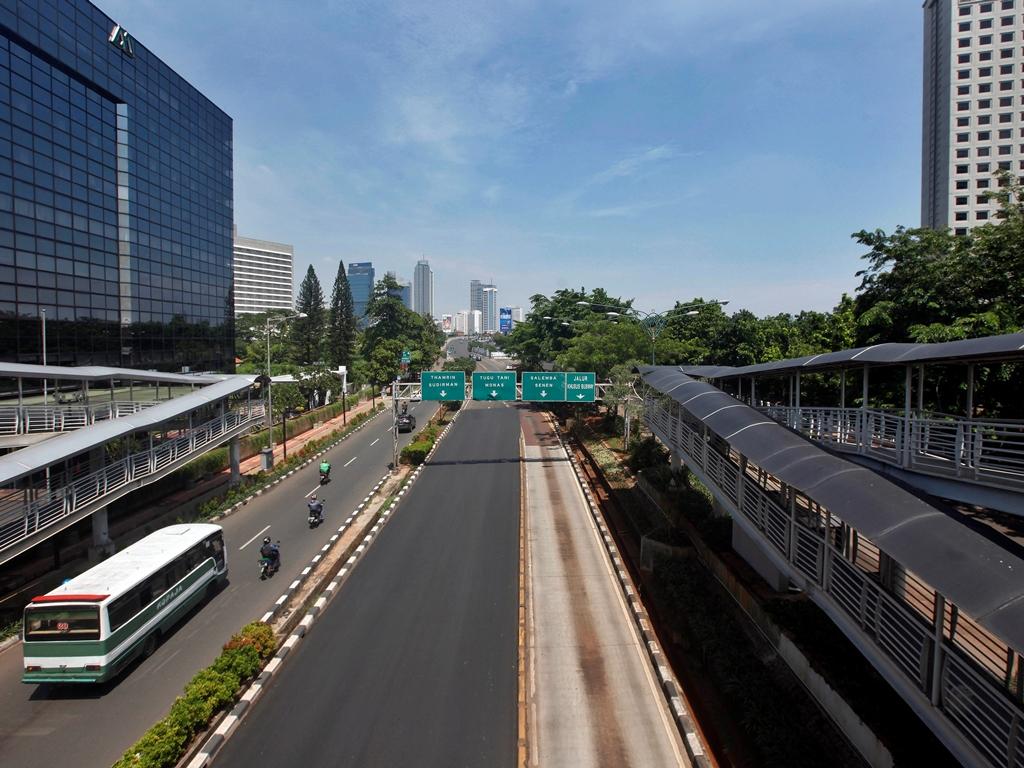 Jakarta cerah berawan. (Foto: MI).