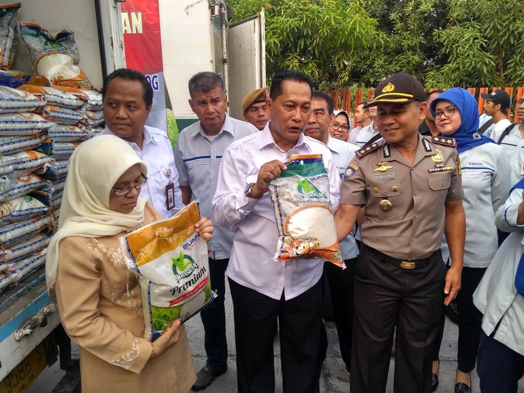 Direktur Utama Perum Bulog Budi Waseso. (FOTO: Medcom.id/Kautsar)