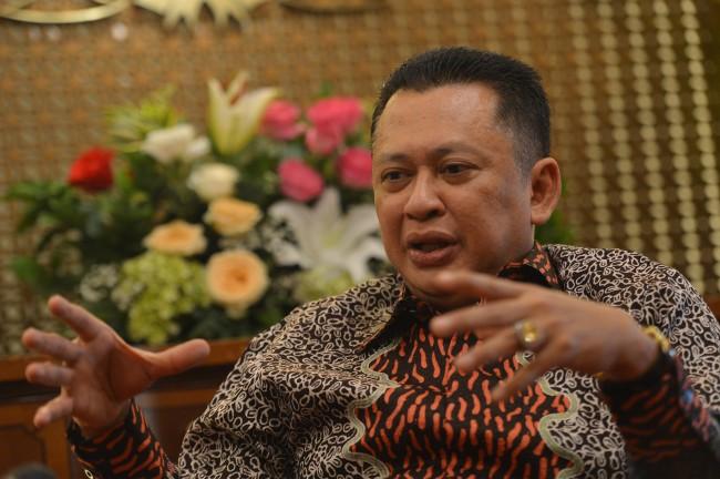 Ketua DPR Bambang Soesatyo. Foto: Antara/Wahyu Putro A.