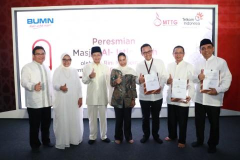 Menteri BUMN Resmikan Smart Mosque Al Istiqomah Telkom Landmark Tower