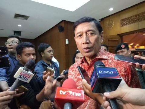 Wiranto Diskusikan RKUHP dengan KPK