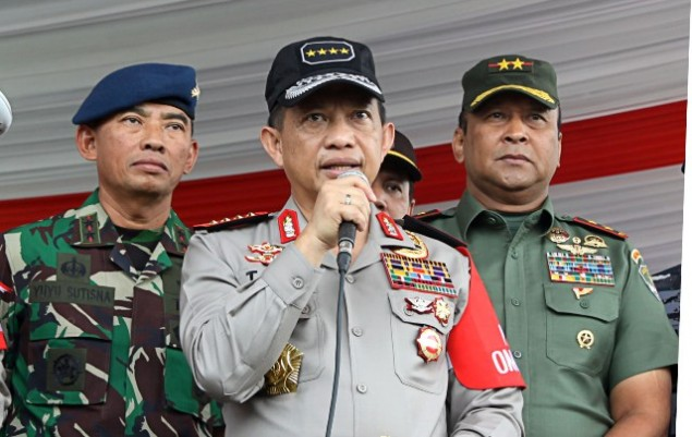 National Police Chief General Tito Karnavian (MI/Galih Pradipta)