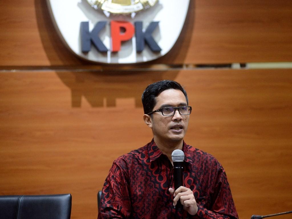 Juru Bicara Komisi Pemberantasan Korupsi (KPK) Febri Diansyah. (Foto: MI/Susanto).