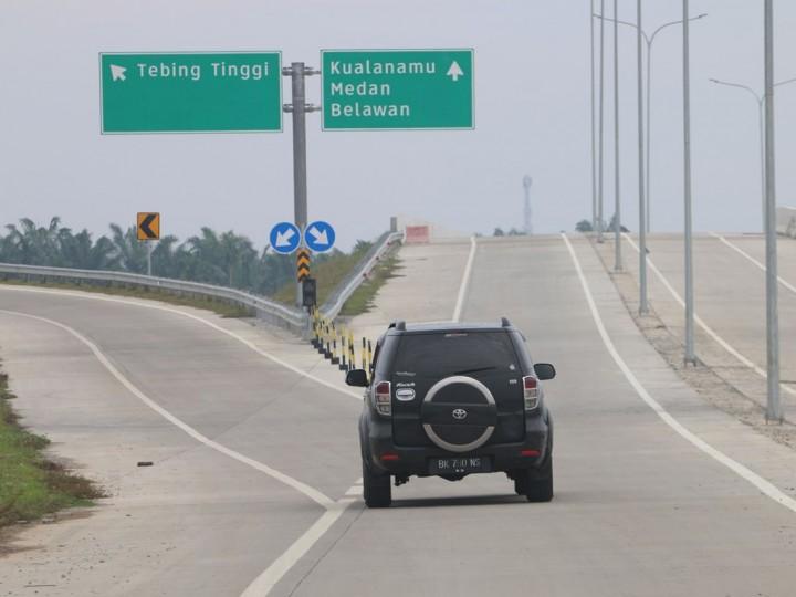 Tol Tanjung Morawa-Parbarakan Bakal Beroperasi Saat Mudik
