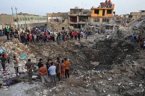 Depot Senjata Irak Meledak, 16 Orang Tewas
