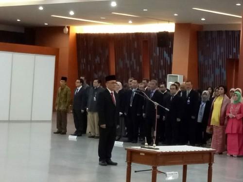 Pelantikan Pejabat Negara.  Foto: Humas LIPI