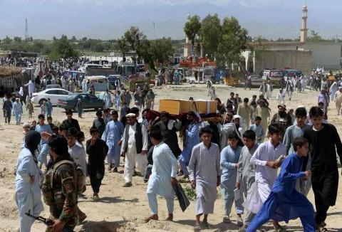 Masjid Diserang, 4 Warga Afghanistan Tewas saat Salat