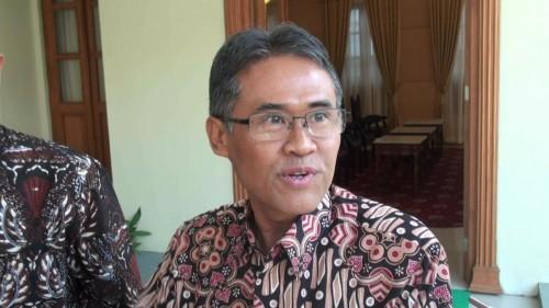 Rektor UGM Panut Mulyono. Foto: Medcom.id/Ahmad Mustaqim