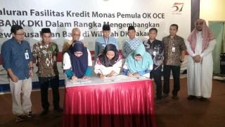 Bank DKI Salurkan Kredit ke Pengusaha OK OCE