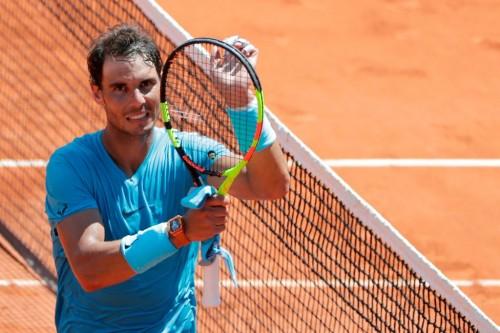 Petenis Spanyol Rafael Nadal (Foto: AFP)