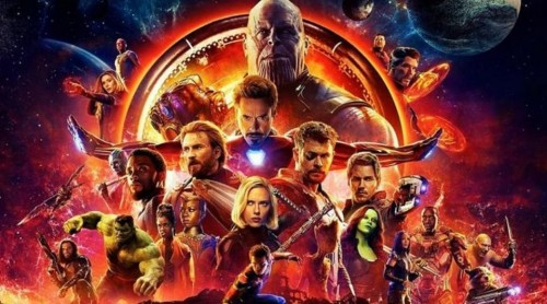 Avengers: Infinity War adalah film terbaru dalam Marvel