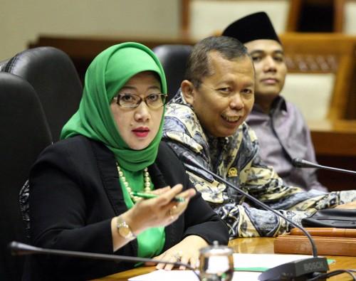 Wakil Ketua komisi X DPR RI Reni Marlinawati.  Foto: MI/Adam Dwi