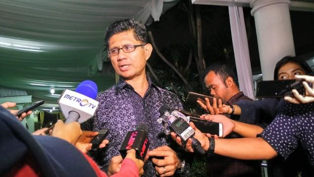 Wakil Ketua KPK Laode Syarif. Foto: Medcom.id/Dheri Agriesta