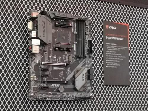 Motherboard MSI B450 di Computex 2018