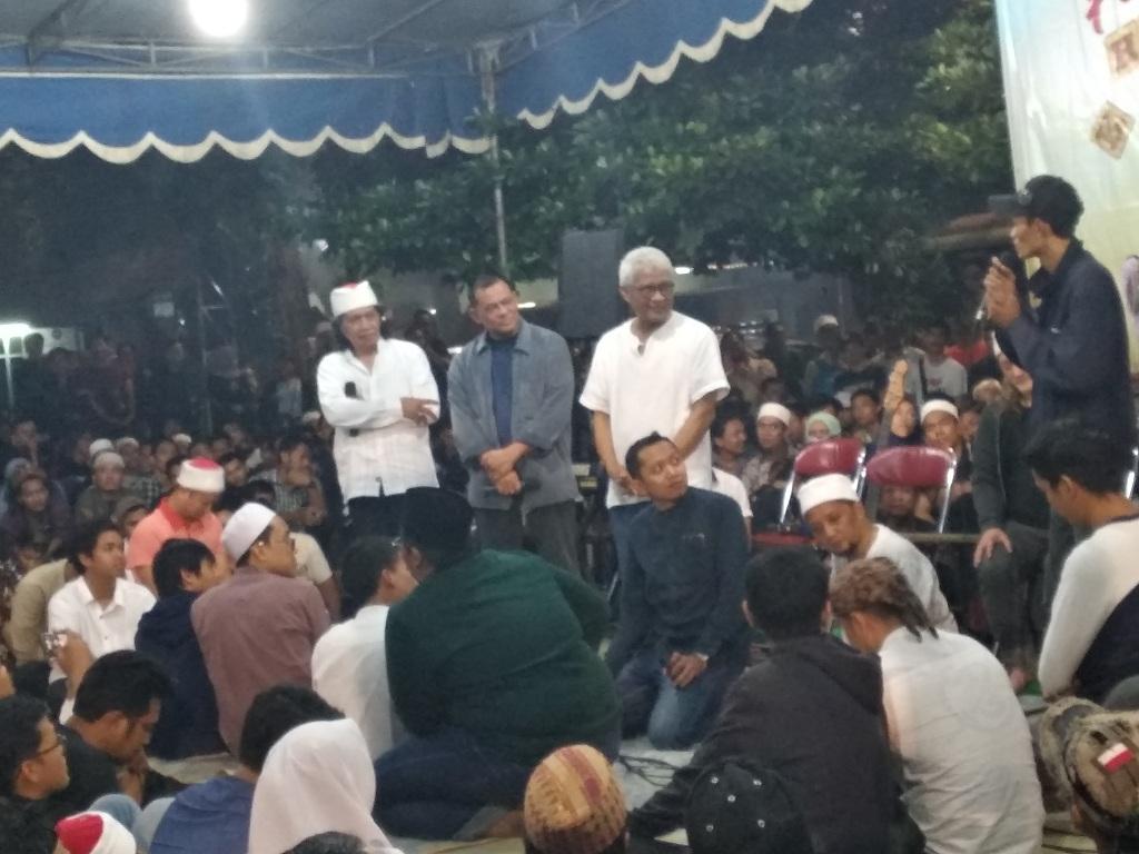 Gatot Nurmantyo di acara Kenduri Cinta - Medcom.id/Muhammad Al Hasan.