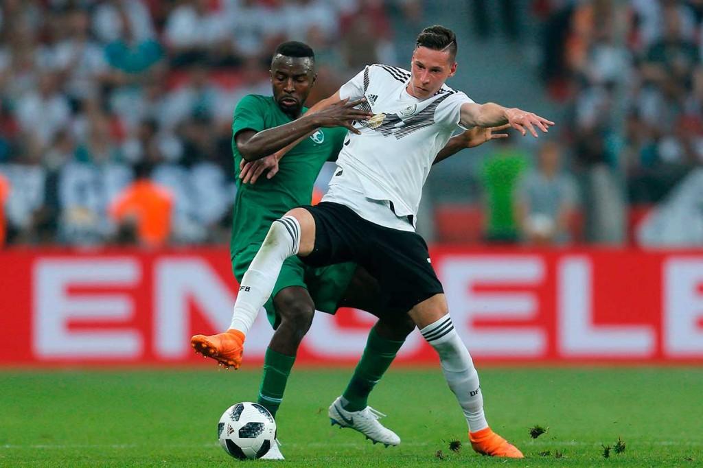 Jerman Tundukkan Arab Saudi 2-1