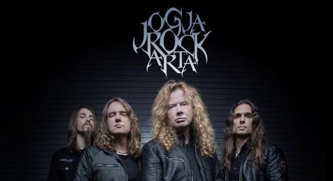JogjaRockarta 2018 Hadirkan Megadeth