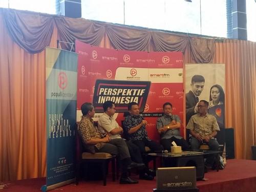 Diskusi Perspektif Indonesia bertema Gerakan Radikal di Kampus?