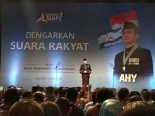 AHY Sindir Revolusi Mental Jokowi