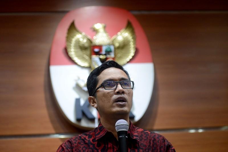Juru Bicara Komisi Pemberantasan Korupsi Febri Diansyah. Foto:MI/Susanto.