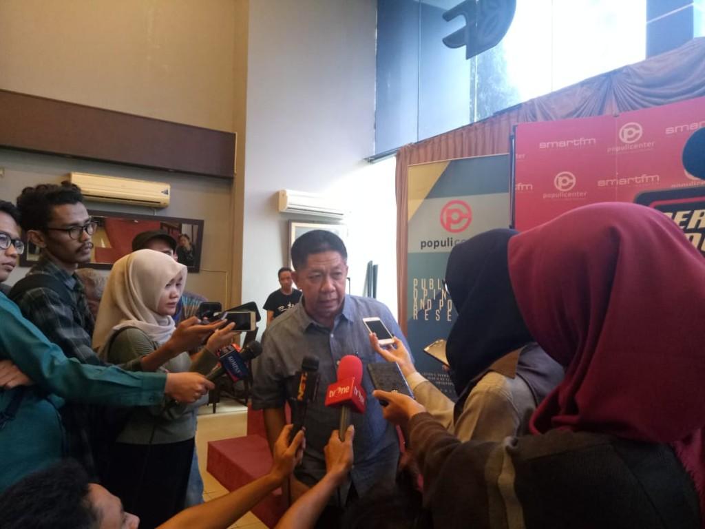 Dosen Fakultas Ilmu Sosial dan Ilmu Politik Universitas Indonesia, Effendi  Ghazali.  Foto: Medcom.id/Intan Yunelia