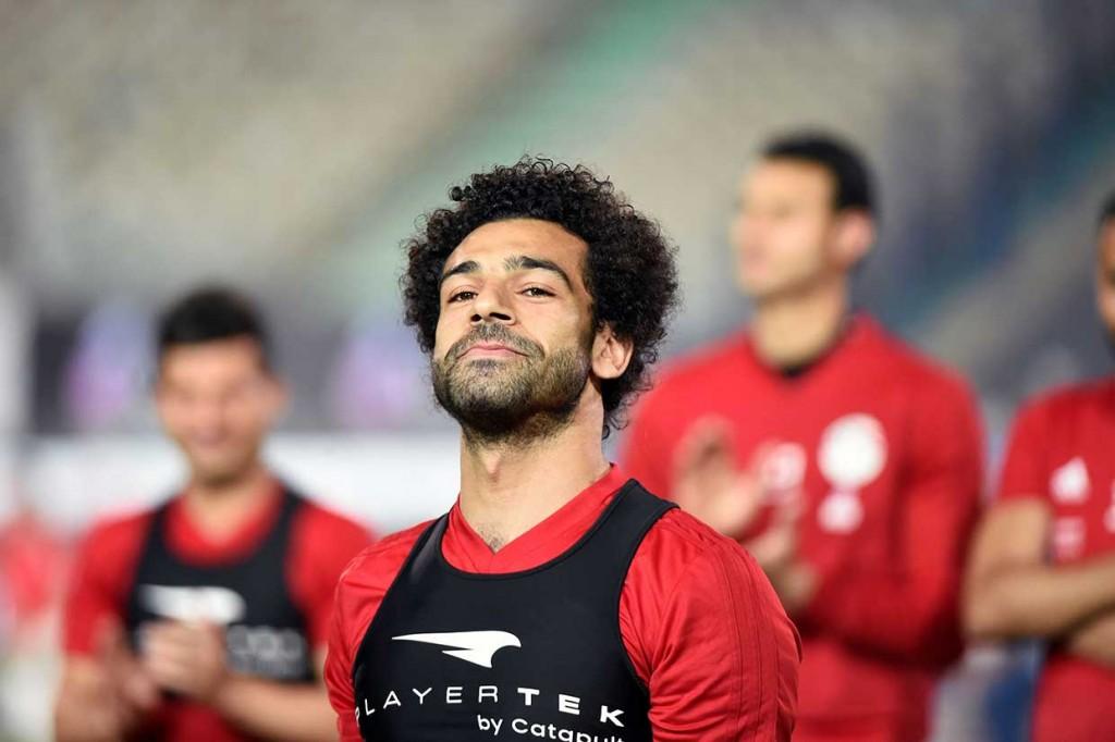 Salah Hadiri Sesi Latihan Timnas Mesir