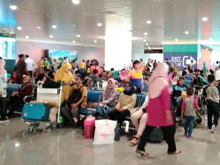 Pemudik di Bandara Ahmad Yani Naik 37 Persen