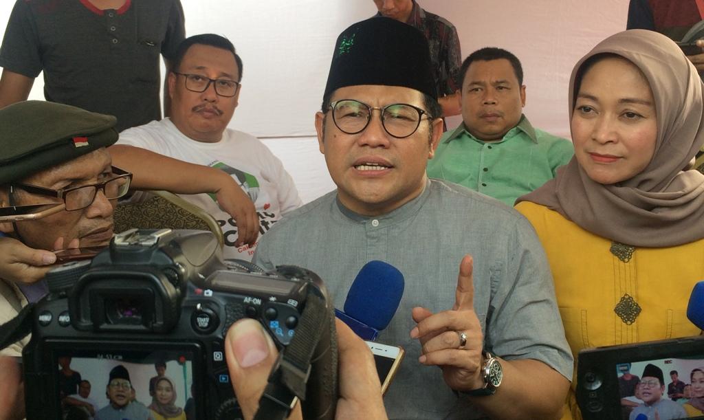Ketua Umum Partai Kebangkitan Bangsa Muhaimin Iskandar. Medcom.id/Husen Miftahudin.