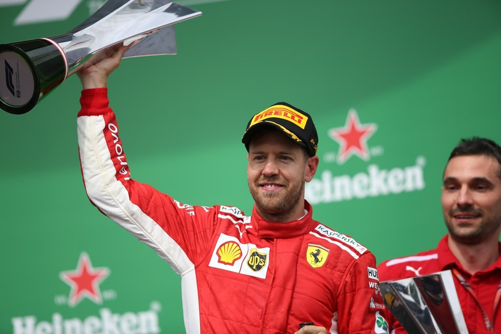 Sebastian Vettel. (Foto: AFP/Charles Coates)