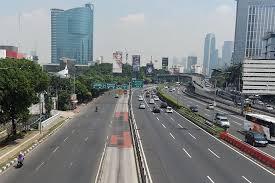 Ilustrasi--Jakarta Lengang/ANTARA--Akbar Nugroho Gumay.