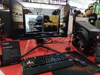 Strategi MSI dari Monitor dan PC Gaming di Computex 2018