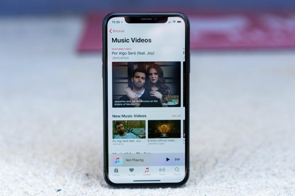 Apple menggulirkan update untuk aplikasi Apple Music versi iOS berisi bagian bertajuk Coming Soon.