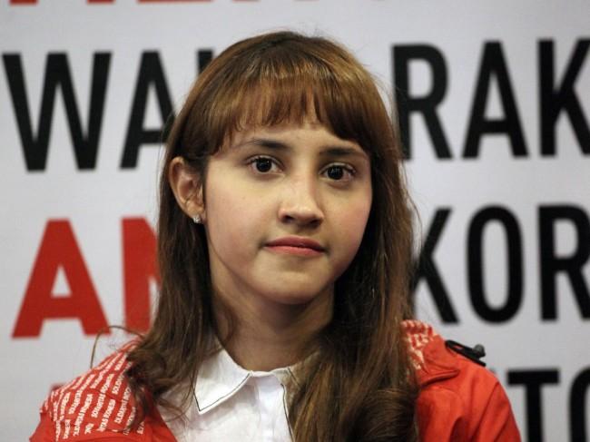 Ketua DPP Partai Solidaritas Indonesia (PSI) Tsamara Amany. Foto: MI/Arya Manggala.