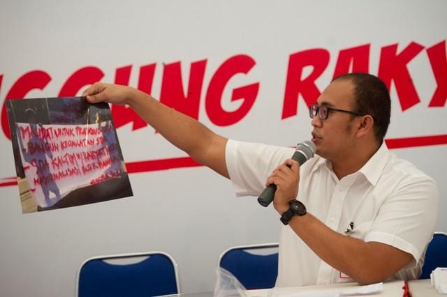 Anggota Badan Komunikasi DPP Partai Gerindra Andre Rosiade. Foto: Antara/Wahyu Putro.
