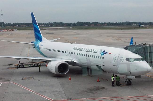 Garuda Indonesia. Medcom.id/Farhan Dwitama.