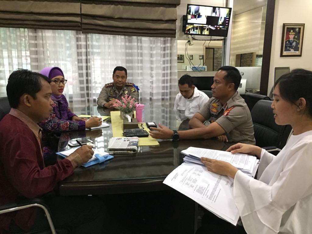 KPAI Bertemu Kapolresta Depok, Jawa Barat. Foto: Dokumentasi KPAI