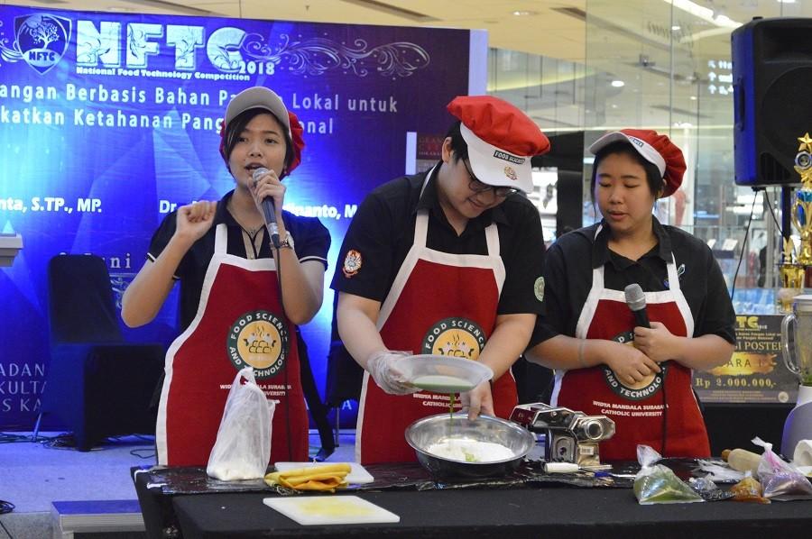National Food Technology Competition (NFTC). Foto: Dokumentasi UKWM.