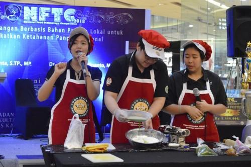 National Food Technology Competition (NFTC). Foto: Dokumentasi