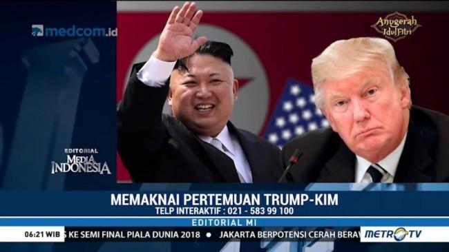 Memaknai Pertemuan Trump-Kim