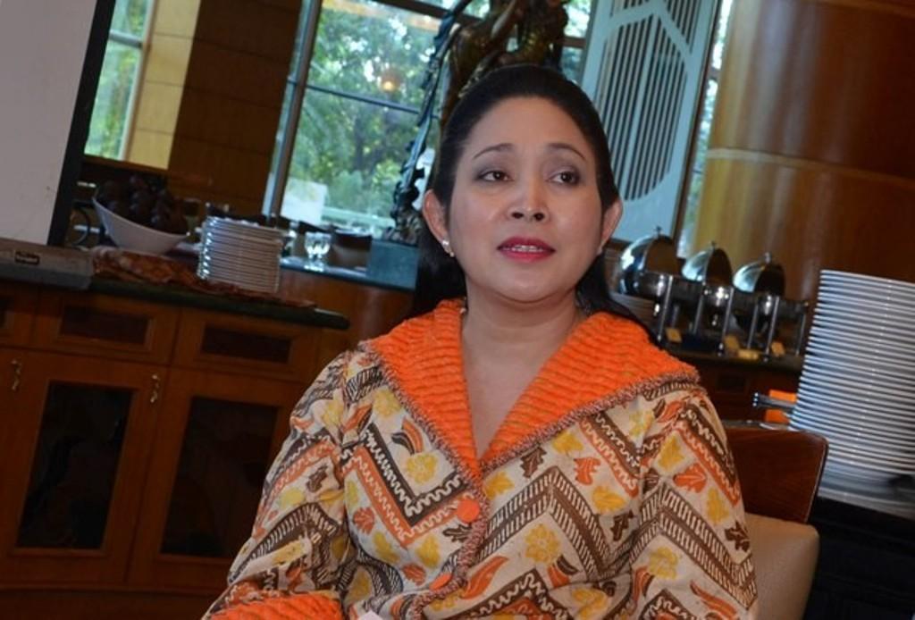 Siti Hediati Hariyadi alias Titiek Soeharto. Foto: MI/Irfan.