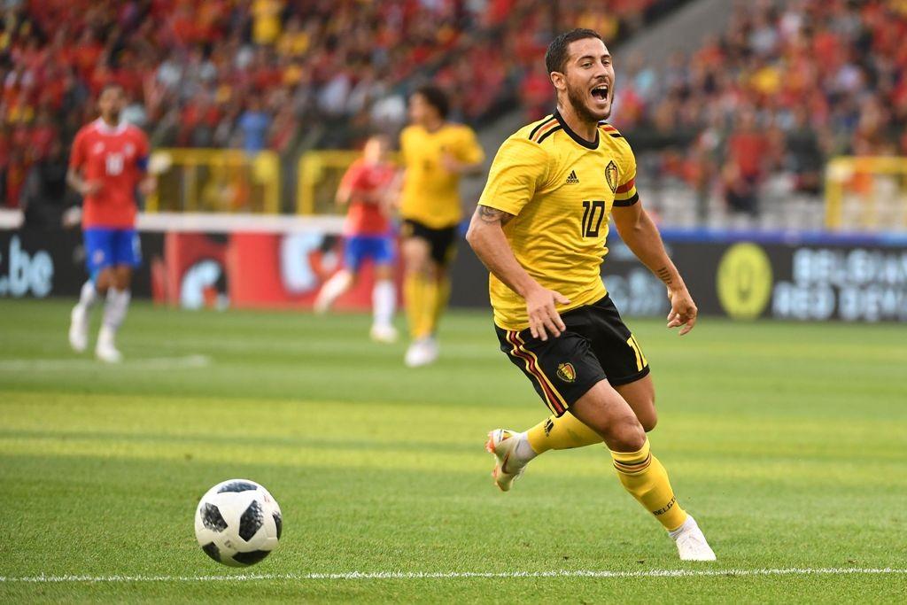 Eden Hazard diragukan tampil di Piala Dunia 2018 usai mengalami cedera. (Foto: AFP PHOTO / EMMANUEL DUNAND)